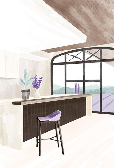 Ménage dans votre cuisine, salon ou salle à manger