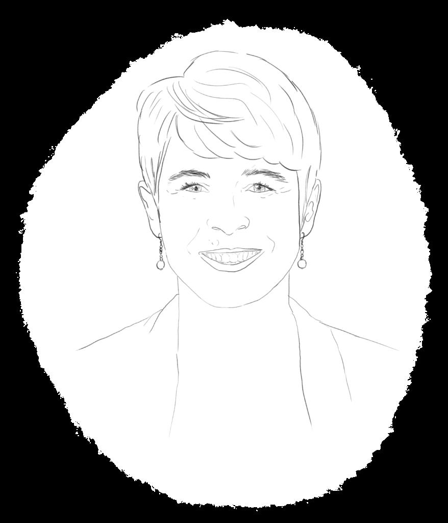 Karine GESNEAU RIVIERE, directrice agence La Compagnie des Lavandières Angers